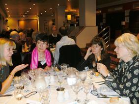 Fundraising dinner 2011 2