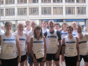 FRG 10k running team