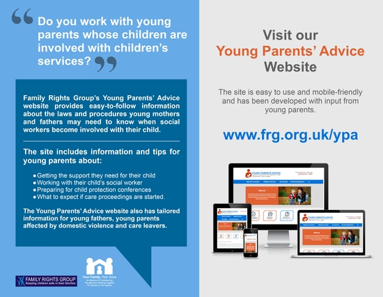flier for practitioners working with young parents 2