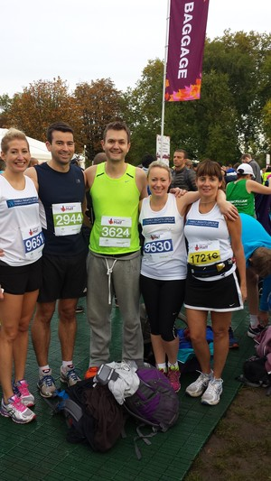 FRG runners at the Royal Parks Half Marathon 2014